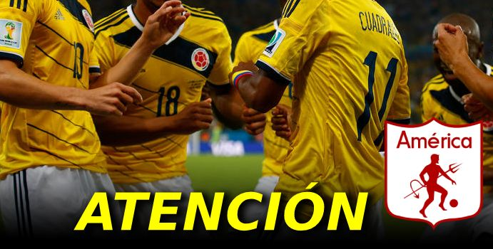 Iré a Colombia y jugaré en el América  7fa9a3a8a