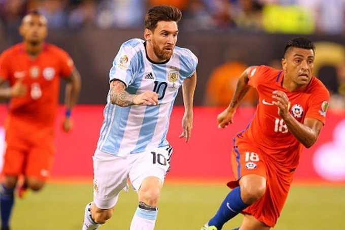 EN VIVO: Argentina vs. Chile
