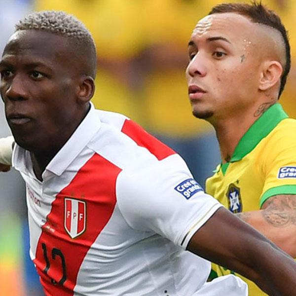 Brasil y Perú, una final diferente