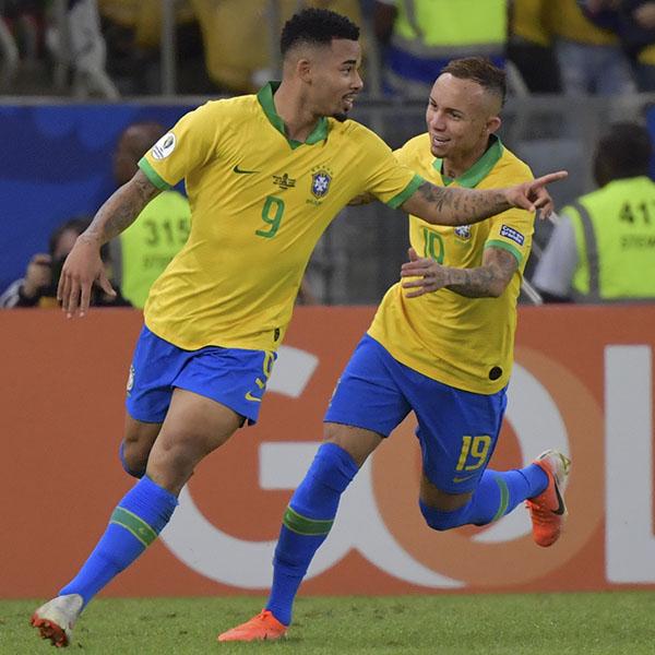 Brasil campeón en su tierra